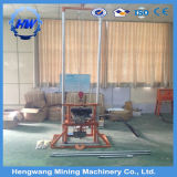 中国の供給小さいガソリン力の油圧50m深い掘削装置