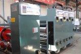 Flexo de alimentação Chain que entalha a máquina de impressão vincando cortando