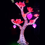 세륨 RoHS TUV SGS Certificates Bw Sc 288를 가진 Holiday Party Decoration를 위한 옥외 Waterproof 3D Sculpture Acrylic LED Flower Tree Light