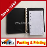 Poco Black 6-Ring Binder con Pack de 100 Ruled Sheets (520052)