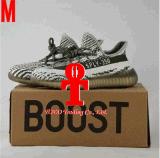 Spinta nera bianca nera 350 di Kanye West Yezzy dei 2017 di originali di Yeezy 350 di spinta V2 del beluga Sply-350 della pesca degli uomini pattini correnti delle donne con la casella