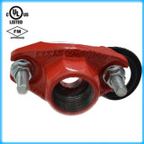 U-Bolt Mechanical Tee com UL/FM/CE Approval