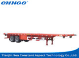 Axles изготовления 3/4/5 Китая 50/80/100 тонн сверхмощных планшетных Semi тележек и трейлеров для сбывания
