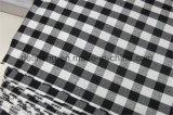 Tessuto della camicia di disegno dell'assegno tinto filato variopinto di T/C