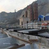 China fêz a concentração agitando a tabela para o minério aluvial do ouro