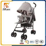 Прогулочная коляска оптового Approved дешевого младенца En1888 дефектная с 8 колесами ЕВА