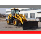 Snow Bladeの2.0ton Front Wheel Loader