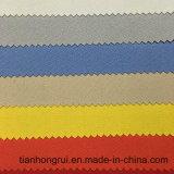 35%の綿65%ポリエステル耐火性の保護明白な織り方伝導性Frファブリック