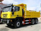Tecnologia Hongyan Genlyon dell'Europa 30 tonnellate di autocarri con cassone ribaltabile