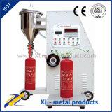 Máquina de rellenar de potencias del extintor de la alta exactitud con la consumición inferior