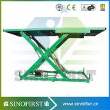 levage stationnaire électrique de ciseaux du rouleau 3000kg de plate-forme hydraulique de levage