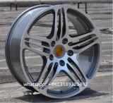 El coche de aluminio de la reproducción bordea la rueda de la aleación para Porsche