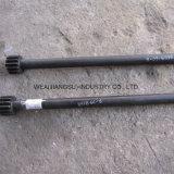 Pezzi di ricambio Z50b del caricatore della rotella di Powerplus. asta cilindrica mezza 6c-8