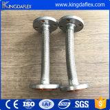 Ensemble de tuyau en teflon tordu en acier inoxydable haute pression