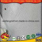 Plafond de gypse de PVC avec le dos de papier d'aluminium