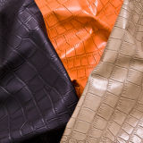 PVC Luxuriant Synethic Leather di Animal Graining per Lady Bags, Shoes e Furniture
