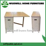Таблица деревянной мебели таблицы столовой складная (W-T-863)