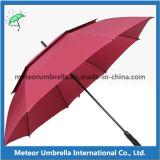 Guarda-chuva Windproof do golfe do respiradouro da camada dobro da qualidade da promoção