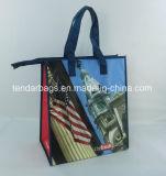 Sac à provisions isolé ou sac d'emballage thermique de refroidisseur