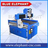 Elefante azul del CNC 6090, eje 6090, 4 ranurador rotatorio del CNC 4 del CNC del eje 3D 6090 para la fabricación de la guitarra
