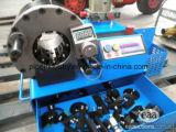 110V/220V/230/415/380V Plooiende Machine van de Slang van de Macht van Fin de Hydraulische