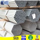 4インチの円形の穏やかな鋼鉄は溶接した熱い浸された電流を通された鋼管(SP004)を