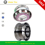 Безламповое Aluminum Alloy Steel Wheel Rim для Truck (22.5X6.75, 22.5X7.50, 22.5X8.25, 22.5X9.00, 22.5X9.75, 24.5X8.25, 24.5X9.00)
