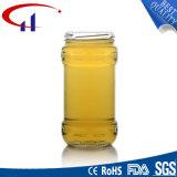 choc en verre de la vente 440ml chaude pour le miel (CHJ8128)