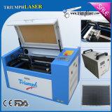 Mini laser do CNC da máquina de estaca da gravura da máquina do gravador do laser do CO2 com porta do USB