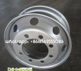 """алюминиевая стальная оправа колеса 22.5 """" *8.25/11.75 для шины тележки"""