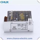24V 12V Minischaltungs-Modus-Stromversorgung 40W (MS40W)