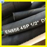 Gruben-Hochdruckschlauch-vierlagiger Stahldraht-Spirale-Öl-Schlauch