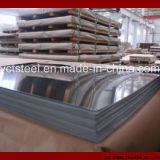 201 304 316 hoja de acero inoxidable revestida del PVC del No. 4