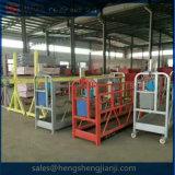 Heiße fassade-Reinigung verschobene Arbeitsbühne der Galvanisation-Zlp630 Stahl