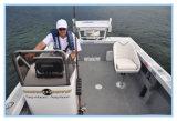 Фабрика поставляет рыбацкую лодку алюминия пульта 5m бортовую