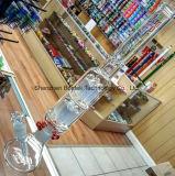 Glas-auf-Glas Schnitt8 Filtrierapparat-rauchendes Wasser-Rohr mit Asche-Fangfederblech
