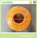 Tuyaux d'air à haute pression renforcés tressés par fibre jaune de jet de PVC de plastique 8.5mm