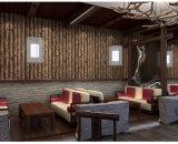 Papier de mur à la maison de PVC de la pierre 3D de décoration pour le matériau de construction