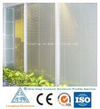 Profil en aluminium d'extrusion pour l'obturateur en aluminium de rouleau de guichet d'obturateur