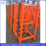 Pasajero del alzamiento del edificio de la construcción y alzamiento de elevación material