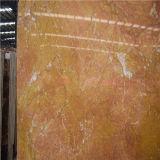 Laje bonita do mármore do ouro de Typle para a telha de assoalho