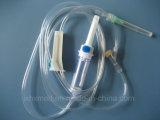 Jogos descartáveis da infusão sem câmara de ar de látex