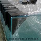 Glace Tempered de &Round carré/verre trempé