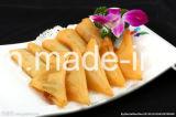 IQF 프로세스 100% 손은 12.5g/Piece 야채 Samosas를 만들었다