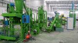 기계, 고무 분말 생산 라인을 재생하는 폐기물 타이어