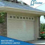 Automatique plier les portes de garage/prix à télécommande de panneaux de porte de garage/porte en verre de garage de panneau/vente utilisée de porte de garage