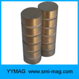 Cilindro de alto rendimiento SmCo Magnet Samarium Cobalt para motores