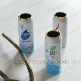 Botella de aluminio del aerosol para el aerosol nasal de la niebla de la limpieza (PPC-AAC-039)