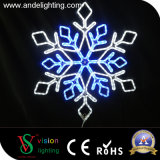 Manufacture Christmas Decoration LED Snowflake Light clouded