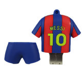 PVC istantaneo del bastone di memoria di numero dell'azionamento 32GB Barcellona Messi Barcellona 10 della penna del USB
